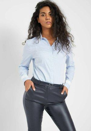 Button-down blouse - skyblue