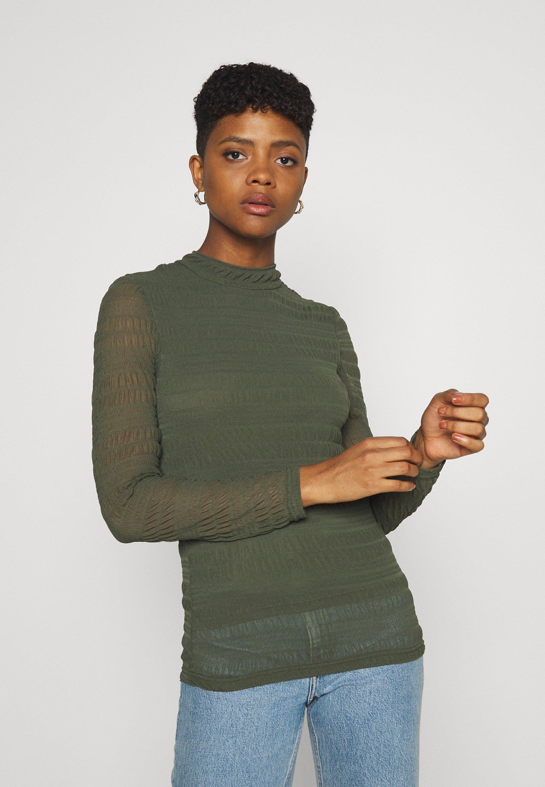 Women JDYCASSIE - Long sleeved top - deep depths