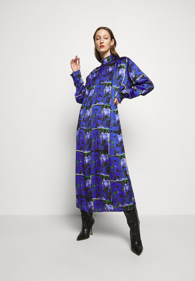 SARA PRINT - Denní šaty - blue
