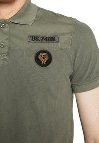 Schott - Polo shirt - sage kaki - 5