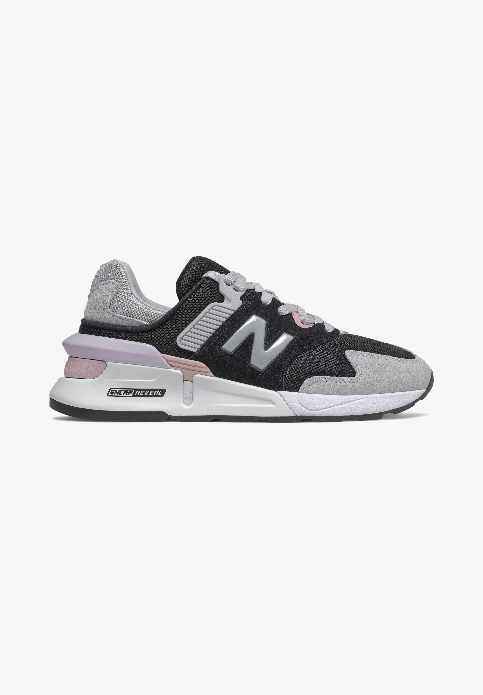 New Balance - Sneakers basse - black/light aluminum/space pink