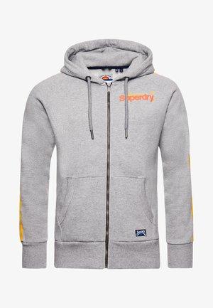 veste en sweat zippée - grey slub