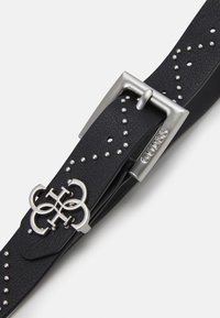 Guess - NOT ADJUSTABLE PANT BELT - Belt - black - 2