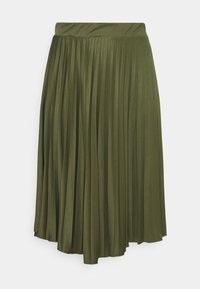 Dorothy Perkins Curve - PLEAT - A-line skirt - khaki - 0