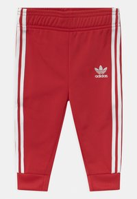 adidas Originals - SLICE TREFOIL CREW ADICOLOR ORIGINALS PULLOVER - Training jacket - scarlet/white - 2