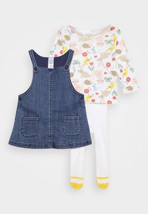 SET - Jersey dress - denim