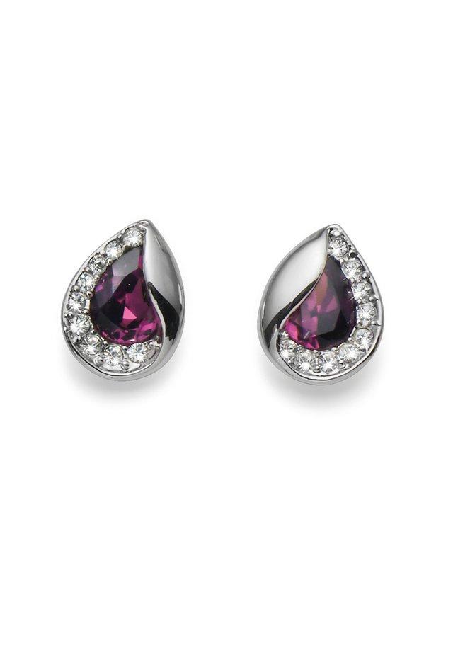 HIDDEN - Boucles d'oreilles - violett