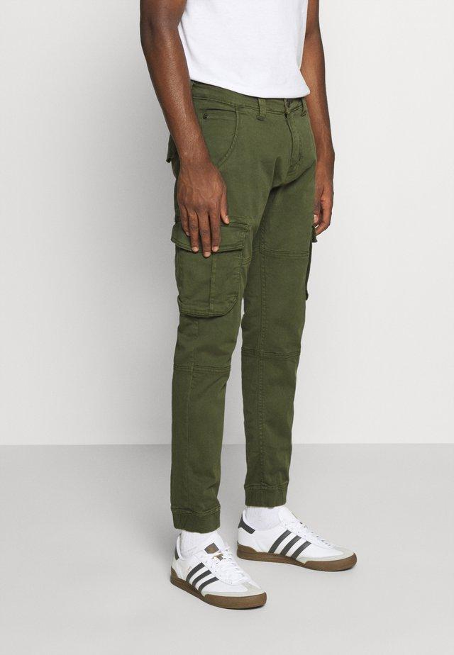 ARMY PANT - Pantalon cargo - dark olive
