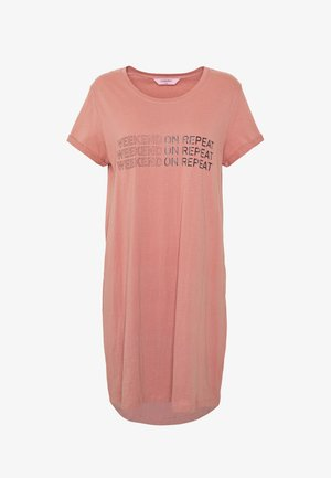NIGHTIE R-NECK WEEKEND - Nightie - old rose