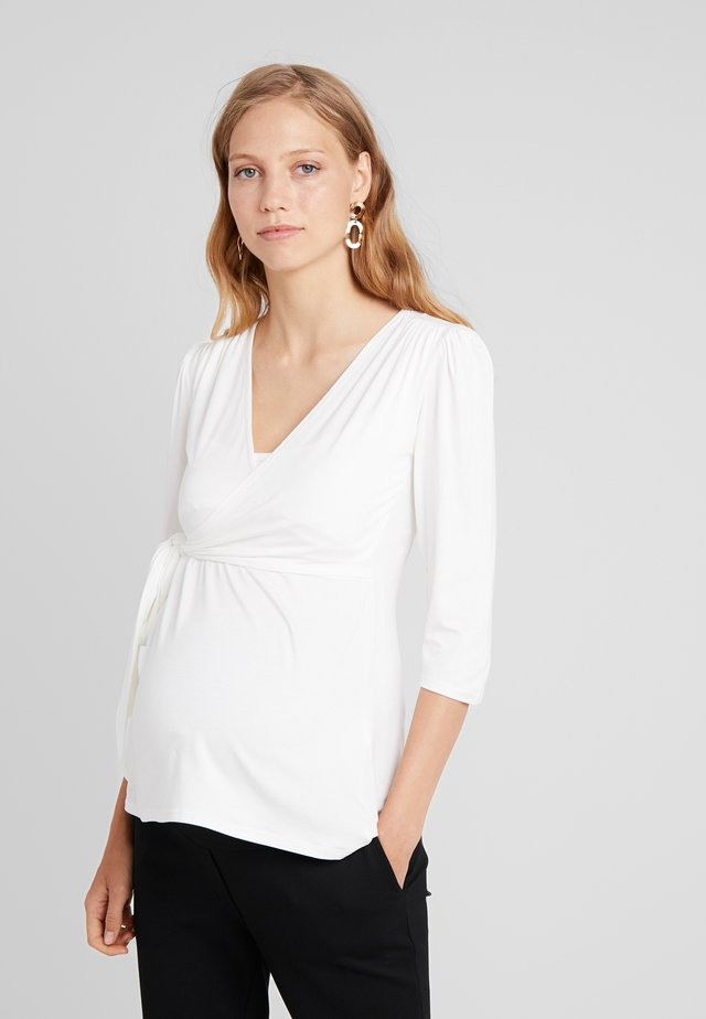 CYBELLE  - Topper langermet - off white