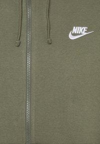 Nike Sportswear - CLUB HOODIE - Zip-up hoodie - twilight marsh - 2