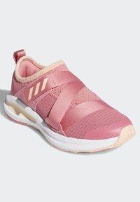 adidas Performance - FORTARUN X CLOUDFOAM RUNNING - Sports shoes - pink - 2