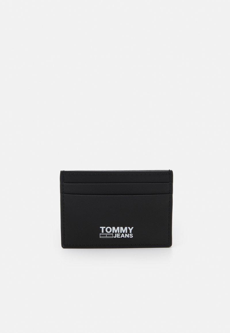 Tommy Jeans - ESSENTIAL HOLDER UNISEX - Plånbok - black