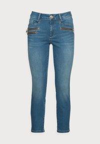 Mos Mosh - BERLIN SATIN JEANS - Slim fit jeans - blue - 4