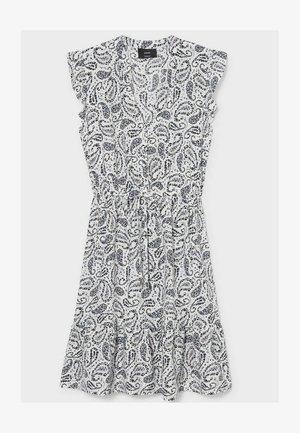 Day dress - black  white