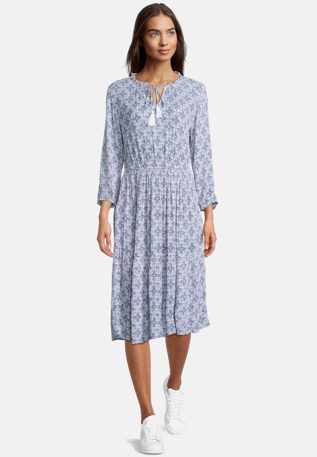 Day dress - weiß/blau