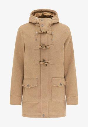 Krátký kabát - beige melange