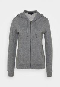 Armani Exchange - Mikina na zip - grey heather - 0