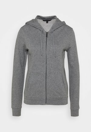 Mikina na zip - grey heather