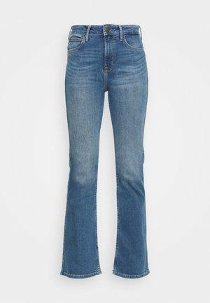 BREESE - Bootcut jeans - worn martha
