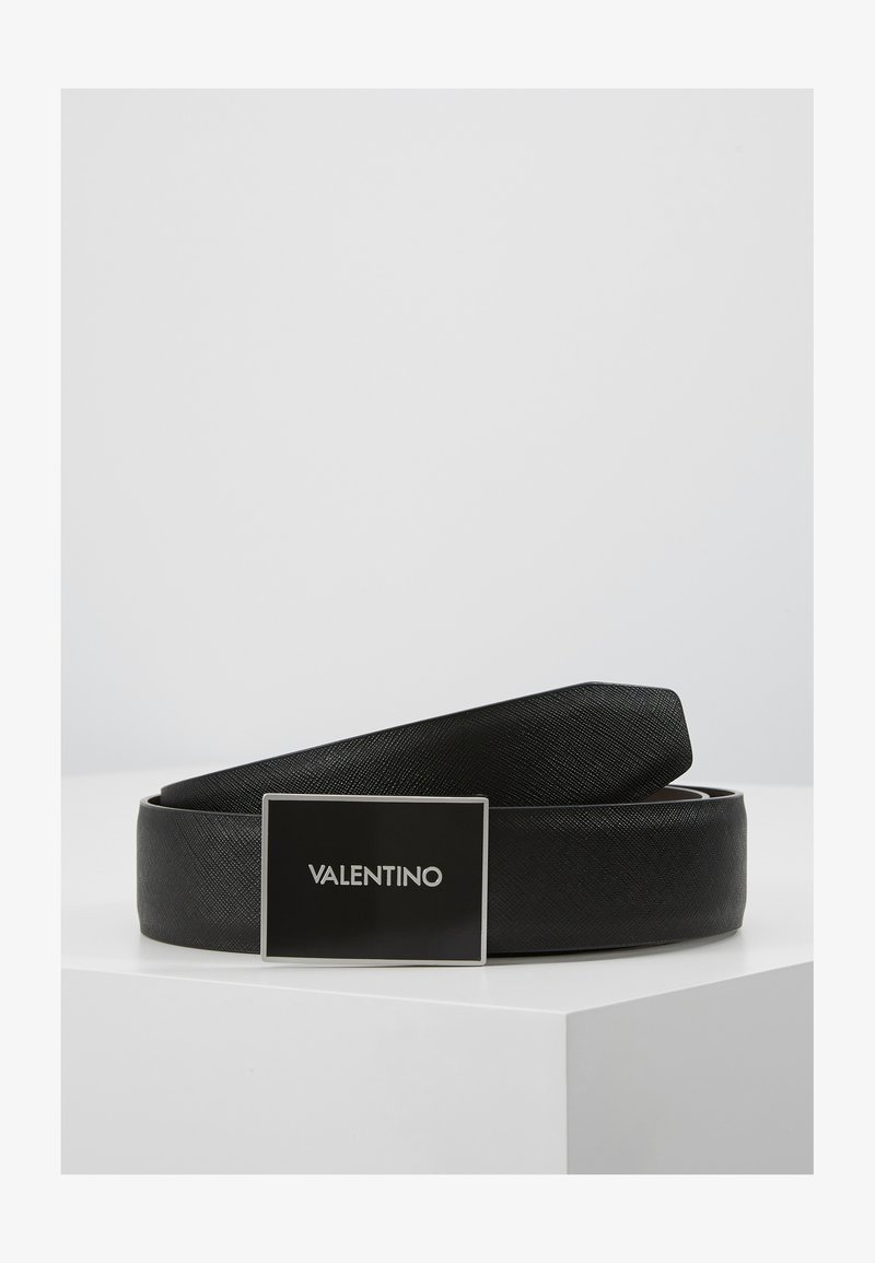 Valentino Bags - DEER LOGO REVERSIBLE BELT - Skärp - nero/moro