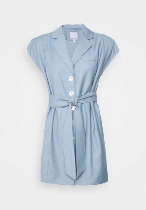 MAGNETISED DRESS - Košilové šaty - washed blue
