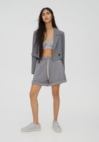 PULL&BEAR - Shorts - grey - 1