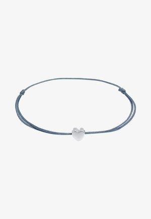 HEART - Armband - silber