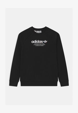 TRI COLOUR CREW - Sweatshirt - black