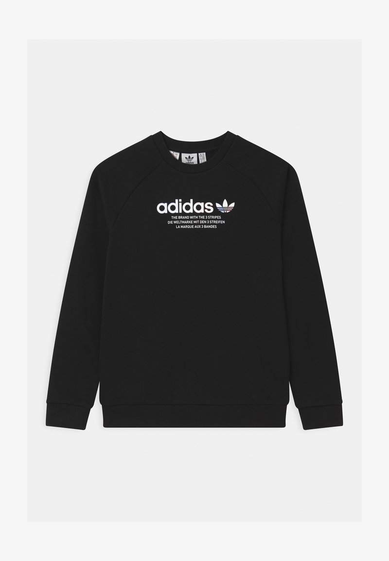 adidas Originals - TRI COLOUR CREW - Collegepaita - black