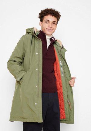 MOCOPI - Winter coat - vert kaki clair