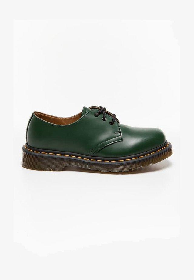 Oksfordki - green