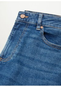 Violeta by Mango - ELIA - Straight leg jeans - middenblauw - 5