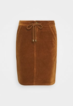 Pencil skirt - cinnamon