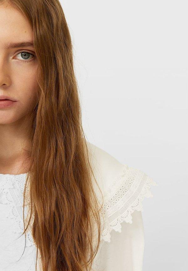 Stradivarius T-shirt basic - white Odzież Damska TAZN TJ 2