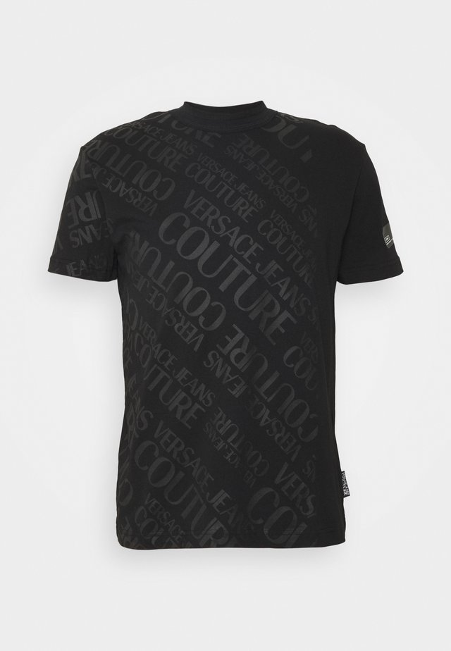 SLIM TRIS LOGO - T-shirt med print - black