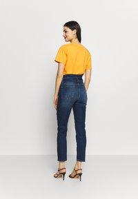 7 for all mankind - PAPERBAG PANT - Slim fit jeans - dark blue - 2