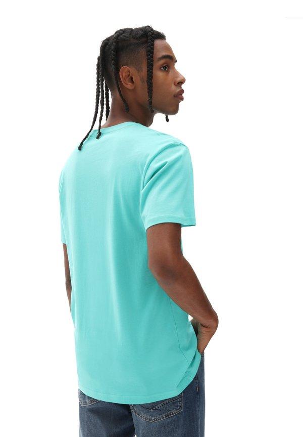 Vans OTW - T-shirt z nadrukiem - waterfall/zielony Odzież Męska OKMX