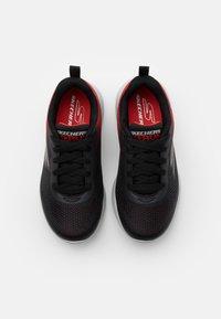Skechers Performance - GO RUN 600 HADDOX UNISEX - Neutral running shoes - black/red/charcoal - 3