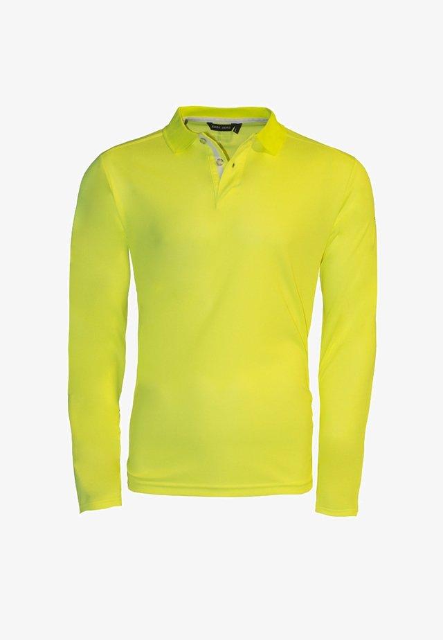 JIB - Polo shirt - neon yellow