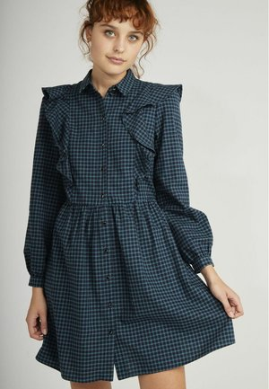 Shirt dress - multicouleurs
