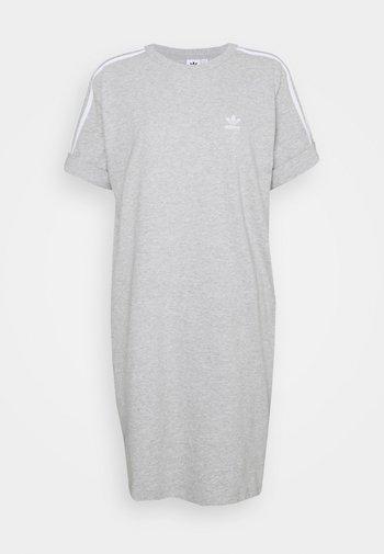 TEE DRESS - Jerseykjoler - medium grey heather