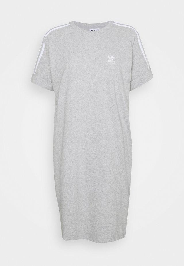 TEE DRESS - Trikoomekko - medium grey heather