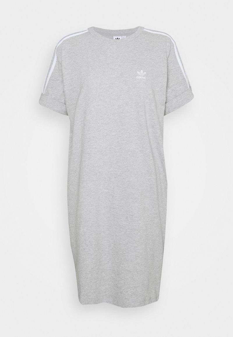adidas Originals - TEE DRESS - Vestido ligero - medium grey heather