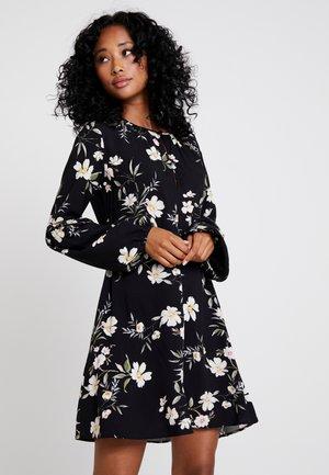 VESTIDO BALI - Vapaa-ajan mekko - black