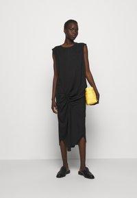 DESIGNERS REMIX - VALERIE SHOULDER DRESS - Day dress - black - 1
