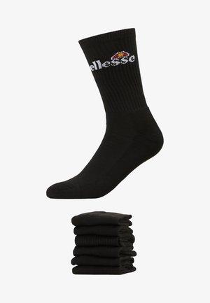 RANMA 6 PACK - Chaussettes - black