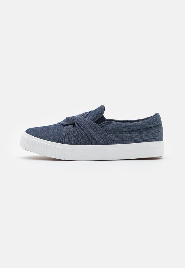 WIDE FIT MEGARA - Trainers - dark denim