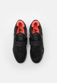 Reebok - LEGACY LIFTER II - Sports shoes - black/orange fluo/true grey - 3