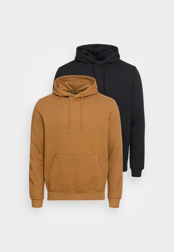 HALE 2 PACK - Sweatshirt - black/rubber